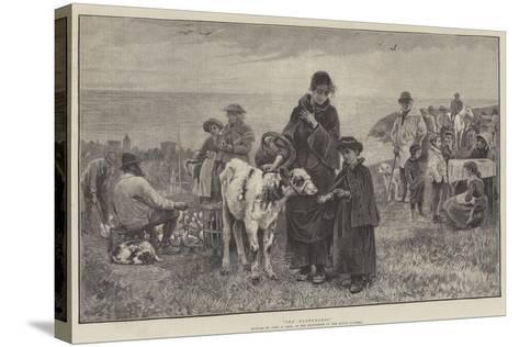 The Fatherless-John Robertson Reid-Stretched Canvas Print