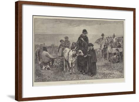 The Fatherless-John Robertson Reid-Framed Art Print