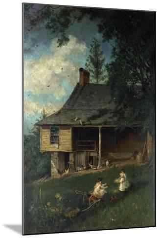 Thomas Cole's First Studio, 1881-John Mackie Falconer-Mounted Giclee Print