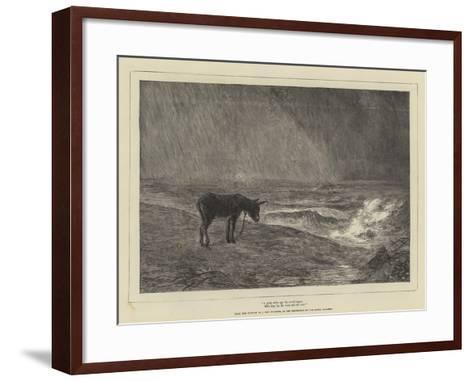 A Great While Ago the World Began, with Hey, Ho, the Wind and the Rain!-John MacWhirter-Framed Art Print