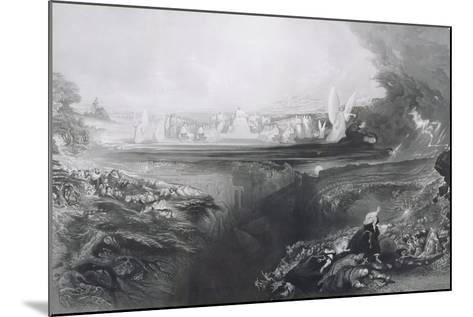 The Last Judgement, Engraved by Charles Mottram (1807-76) Pub. by Thomas Mclean, 1856-John Martin-Mounted Giclee Print