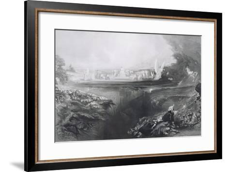 The Last Judgement, Engraved by Charles Mottram (1807-76) Pub. by Thomas Mclean, 1856-John Martin-Framed Art Print