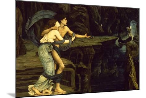 Orpheus and Eurydice on the Banks of the River Styx-John Roddam Spencer Stanhope-Mounted Giclee Print