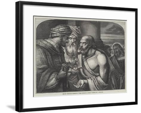 The Covenant of Judas-John Franklin-Framed Art Print