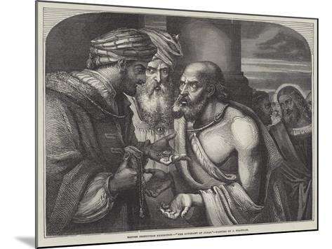 The Covenant of Judas-John Franklin-Mounted Giclee Print
