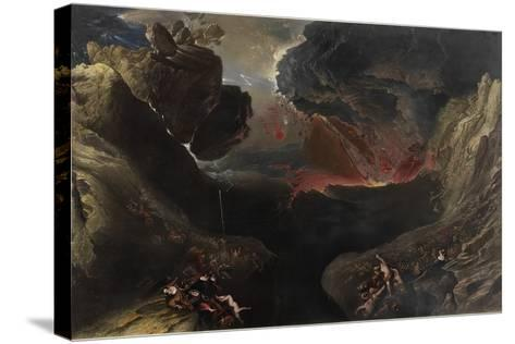 The Great Day of His Wrath, C.1851-53-John Martin-Stretched Canvas Print