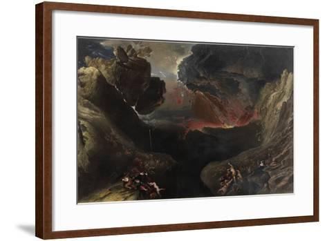The Great Day of His Wrath, C.1851-53-John Martin-Framed Art Print