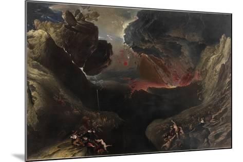 The Great Day of His Wrath, C.1851-53-John Martin-Mounted Giclee Print