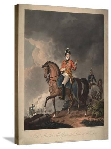 Field Marshal His Grace the Duke of Wellington, 1814-John Massey Wright-Stretched Canvas Print