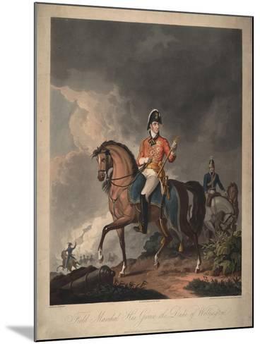 Field Marshal His Grace the Duke of Wellington, 1814-John Massey Wright-Mounted Giclee Print