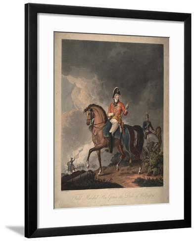 Field Marshal His Grace the Duke of Wellington, 1814-John Massey Wright-Framed Art Print
