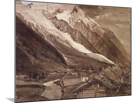 Recto: the Glacier Des Bossons-John Ruskin-Mounted Giclee Print