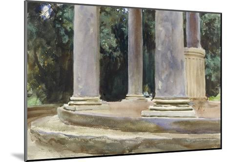 A View Between the Columns of a Tempietto (Watercolour and Touches of Bodycolour over Indications i-John Singer Sargent-Mounted Giclee Print