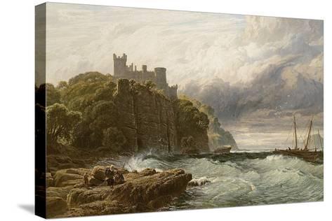 Culzean Castle, Ayrshire, 1877-John Mogford-Stretched Canvas Print