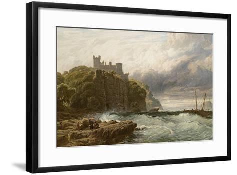 Culzean Castle, Ayrshire, 1877-John Mogford-Framed Art Print