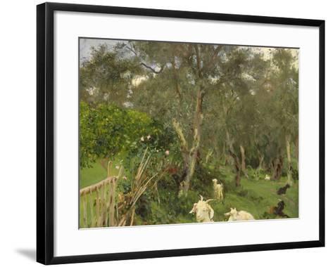 Olives in Corfu, 1909-John Singer Sargent-Framed Art Print