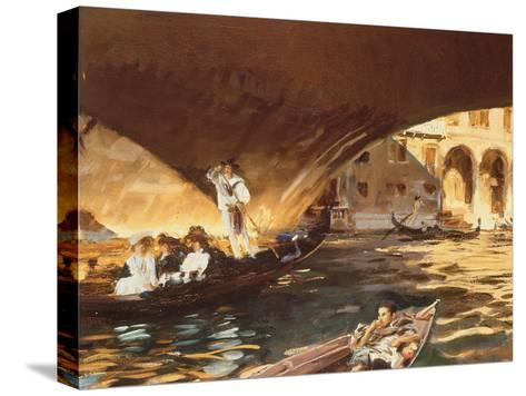 The Rialto, Venice-John Singer Sargent-Stretched Canvas Print