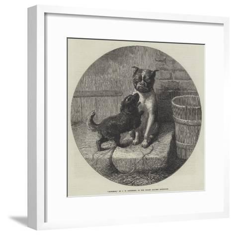 Bothered-John William Bottomley-Framed Art Print