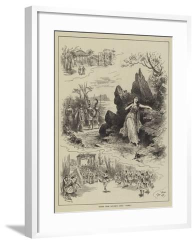 Scenes from Gounod's Opera Sapho-John Jellicoe-Framed Art Print