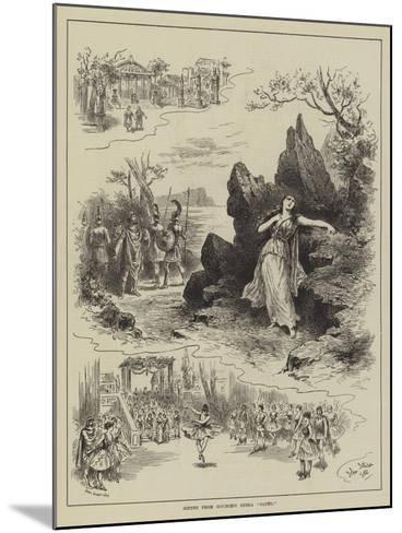 Scenes from Gounod's Opera Sapho-John Jellicoe-Mounted Giclee Print