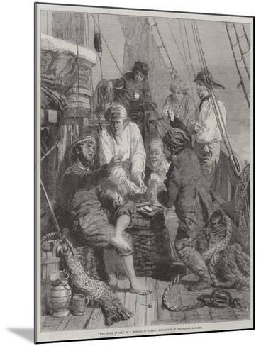 The Storm at Sea-John Morgan-Mounted Giclee Print