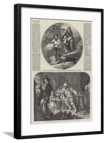 Exhibition of the Royal Academy-John Henry Mole-Framed Art Print