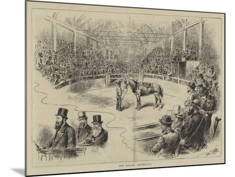 New Zealand Tattersall's-John Jellicoe-Mounted Giclee Print