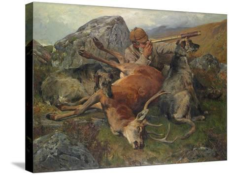 Watching the Stalkers, 1883-John Sargent Noble-Stretched Canvas Print