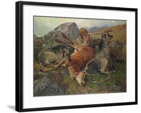 Watching the Stalkers, 1883-John Sargent Noble-Framed Art Print