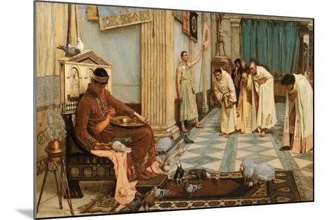 The Favourites of Emperor Honorius, C.1883-John William Waterhouse-Mounted Giclee Print