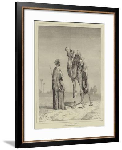 Arab and Camel-John Frederick Lewis-Framed Art Print