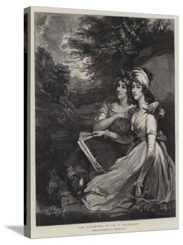 The Daughters of Sir T Frankland-John Hoppner-Stretched Canvas Print