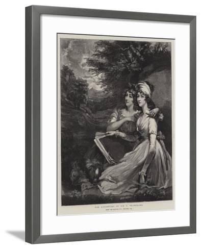 The Daughters of Sir T Frankland-John Hoppner-Framed Art Print