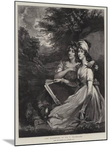The Daughters of Sir T Frankland-John Hoppner-Mounted Giclee Print