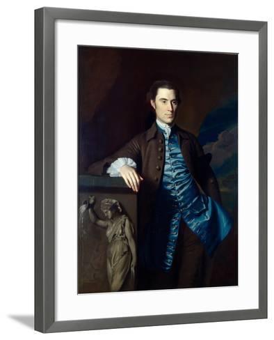 Thaddeus Burr, 1758-60-John Singleton Copley-Framed Art Print