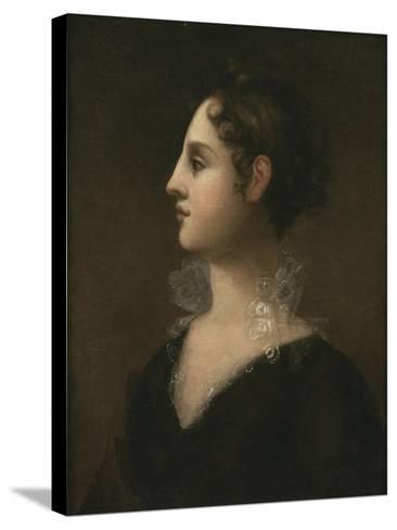 Theodosia Burr (Mrs. Joseph Alston, 1783-1813), 1802-John Vanderlyn-Stretched Canvas Print