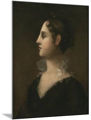 Theodosia Burr (Mrs. Joseph Alston, 1783-1813), 1802-John Vanderlyn-Mounted Giclee Print