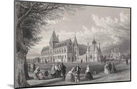 The University Museum: Oxford Almanack for 1860, 1860-John Le Keux-Mounted Giclee Print