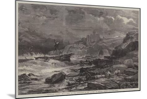 Tantallon Castle-John Syer-Mounted Giclee Print