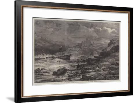 Tantallon Castle-John Syer-Framed Art Print