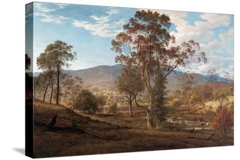 View of Mills Plains, Van Diemen's Land, 1833-John Glover-Stretched Canvas Print