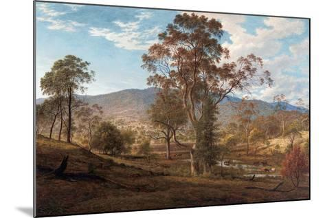 View of Mills Plains, Van Diemen's Land, 1833-John Glover-Mounted Giclee Print