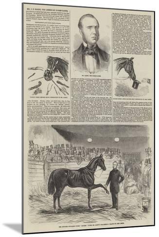 Mr J S Rarey, the American Horse-Tamer-John Leech-Mounted Giclee Print