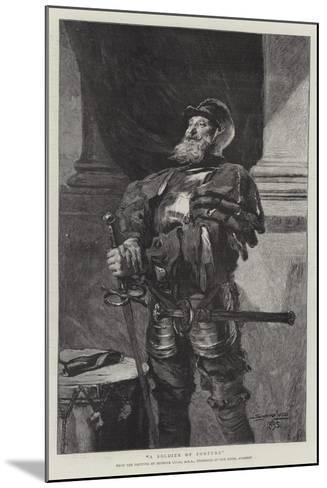 A Soldier of Fortune-John Seymour Lucas-Mounted Giclee Print