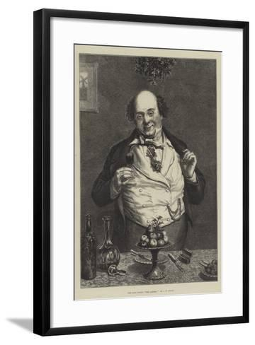 The Last Toast, The Ladies!-John Templeton Lucas-Framed Art Print