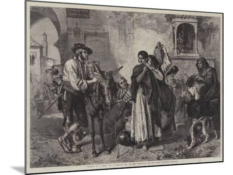 Gossips at a Well-John Phillip-Mounted Giclee Print