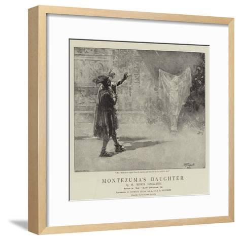 Montezuma's Daughter-John Seymour Lucas-Framed Art Print