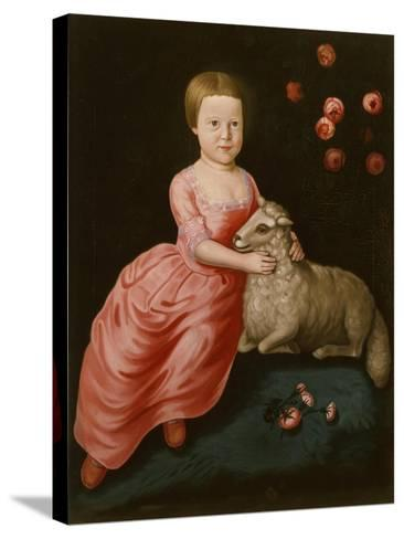 Mary Beekman, 1766-John Durand-Stretched Canvas Print