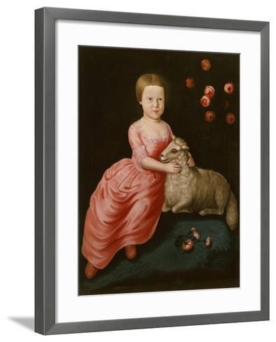 Mary Beekman, 1766-John Durand-Framed Art Print