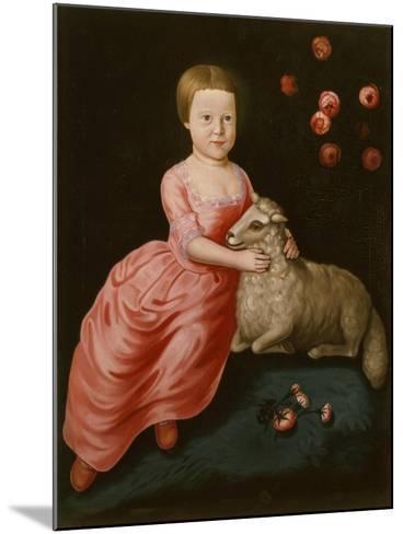 Mary Beekman, 1766-John Durand-Mounted Giclee Print